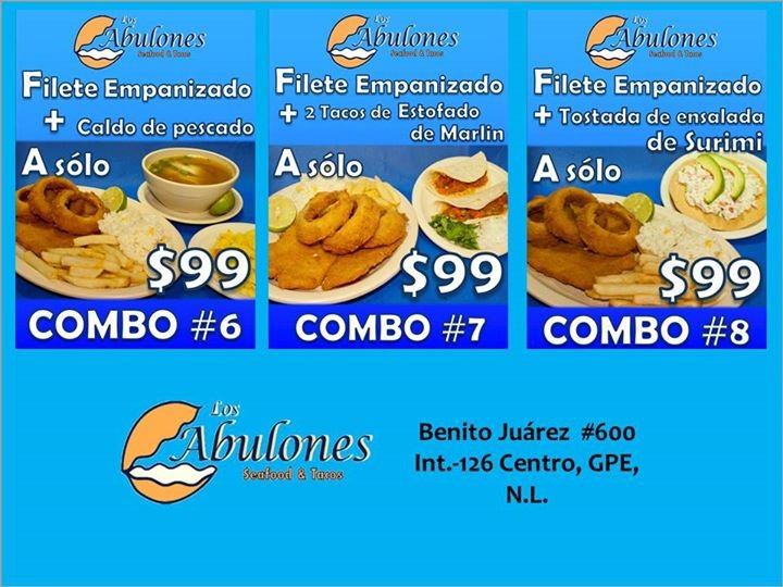 Los Abulones Seafood & Tacos cover