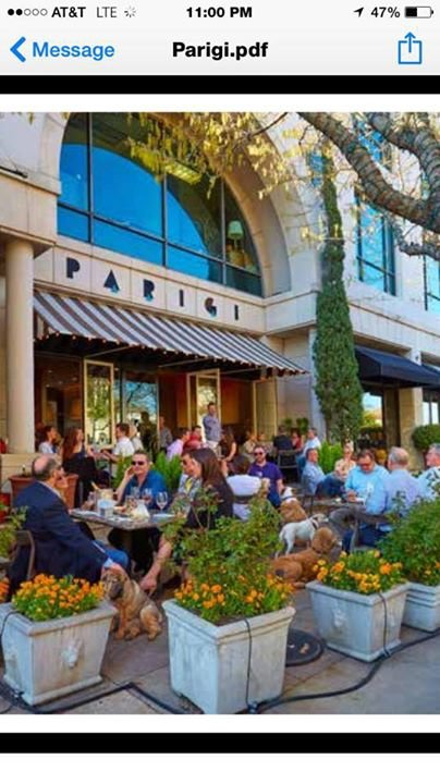 Parigi Restaurant cover