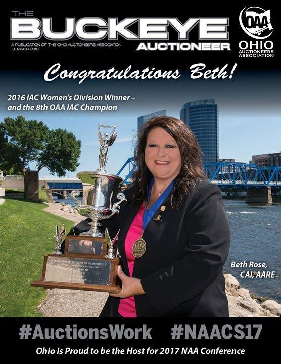 Ohio Auctioneers Association cover