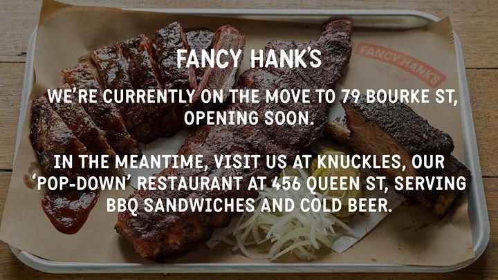 Fancy Hank's cover