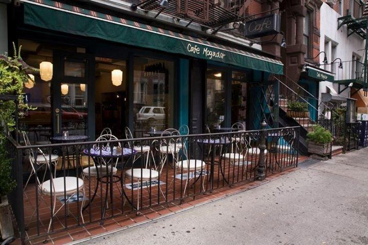 Cafe Mogador cover