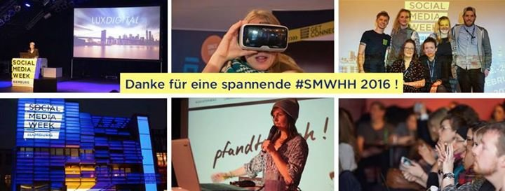 Social Media Week Hamburg cover