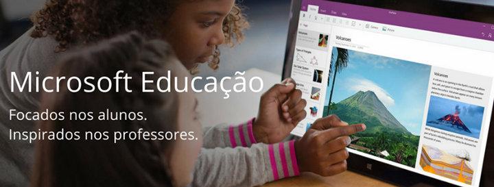 Microsoft Educação cover