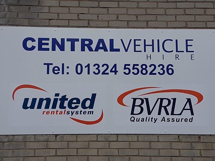 Central Vehicle Hire Alloa & Larbert cover