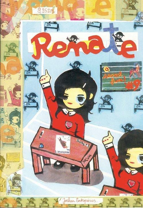 RENATE Comics cover