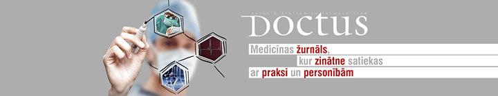 DOCTUS žurnāls ārstiem un farmaceitiem cover