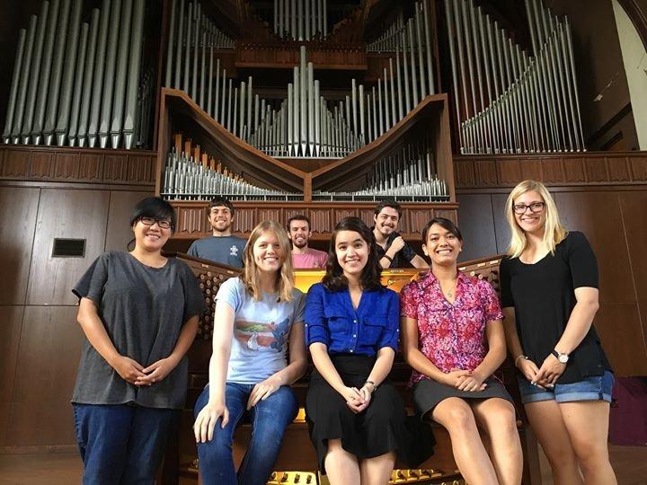 University of Florida Organ Studio cover