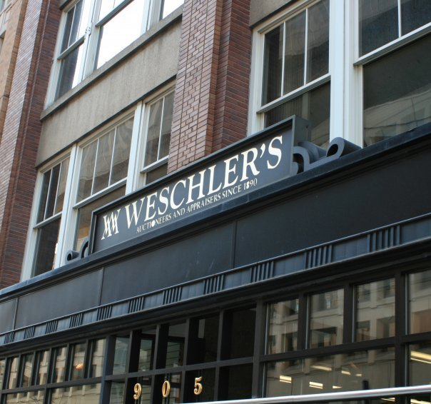 Weschler's Auctioneers & Appraisers cover