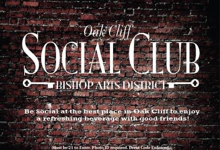 Oak Cliff Social Club cover