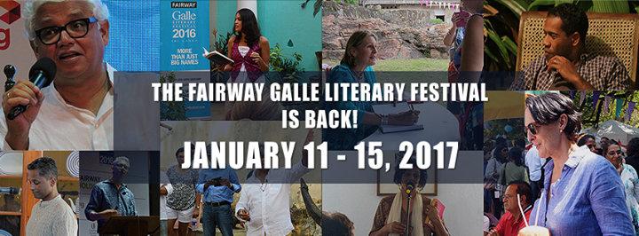 Fairway Galle Literary Festival cover