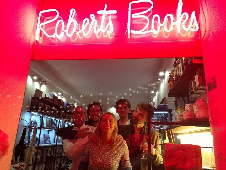 Robert's Books cover