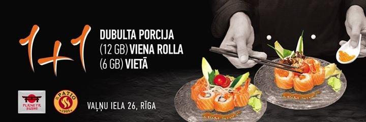 Planeta Sushi - Latvia cover