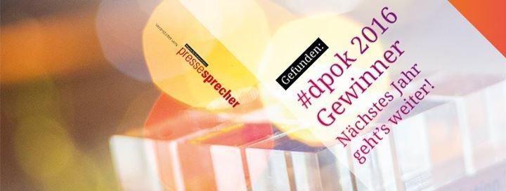 Deutscher Preis für Onlinekommunikation cover