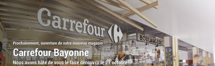 Carrefour Bayonne Ametzondo cover