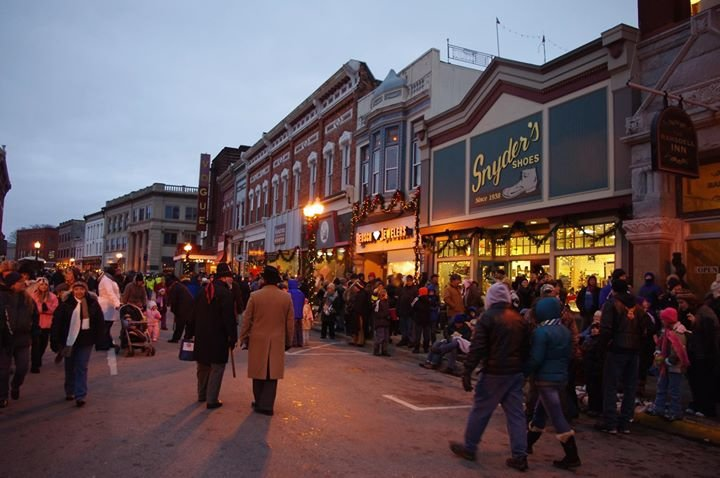 Downtown Manistee cover