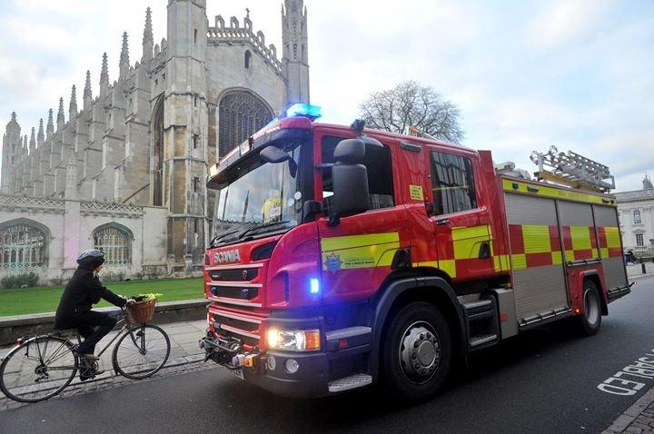 Cambridgeshire Fire & Rescue Service cover