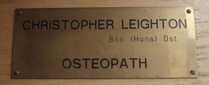 Bexleyheath Osteopathic Practice cover