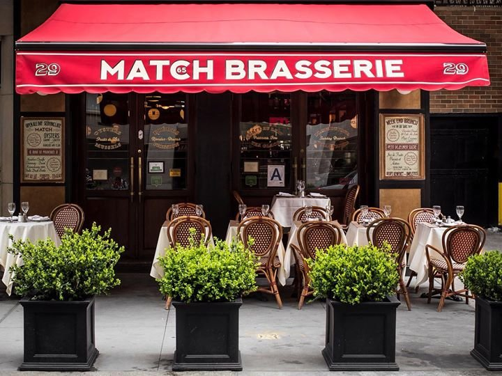 Match 65 Brasserie cover