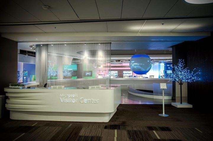 Microsoft Visitor Center cover