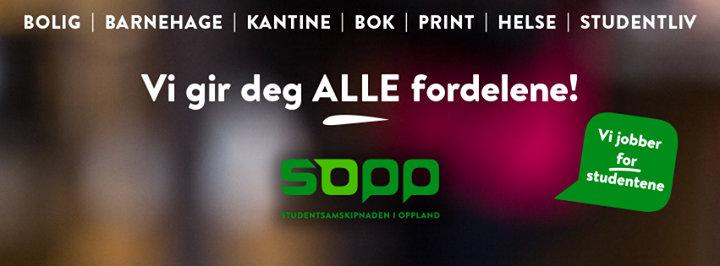 Studentsamskipnaden i Innlandet - Lillehammer cover