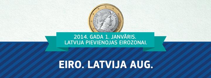 Eiro Latvijā cover