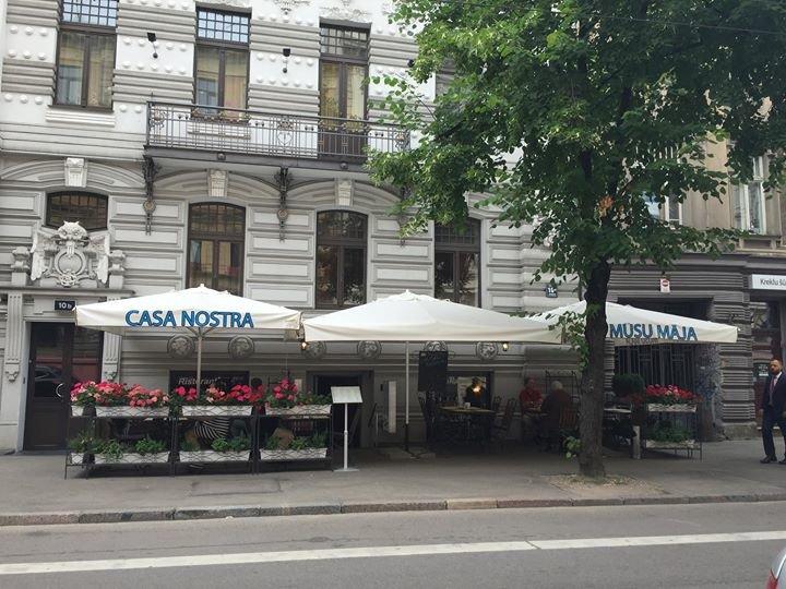 Casa Nostra Riga cover
