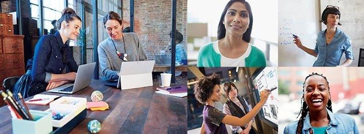 Women of Microsoft cover