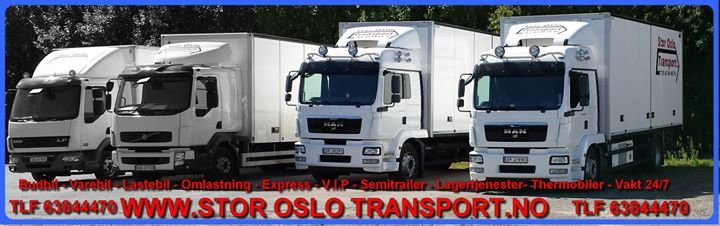 Stor Oslo Transport As cover