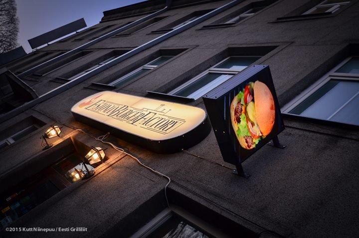 Estonian Burger Factory cover