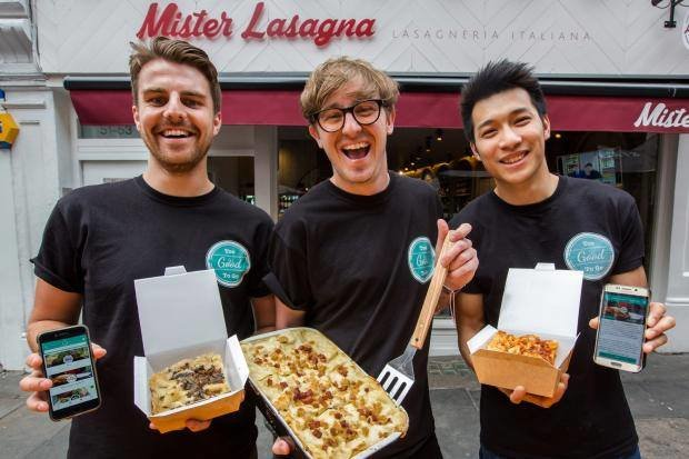 Mister Lasagna cover