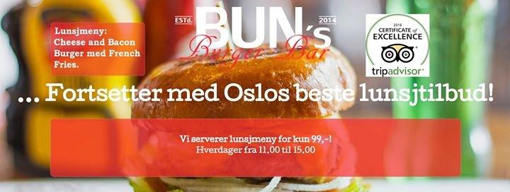 Bun's Burger Bar cover