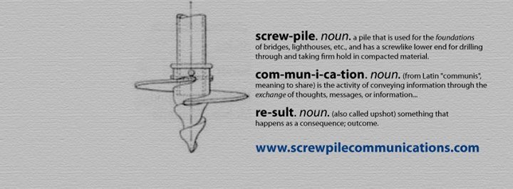 Screwpile Communications cover