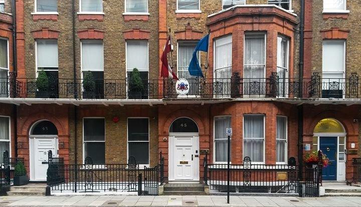 Embassy of Latvia in the UK / Latvijas vēstniecība Lielbritānijā cover