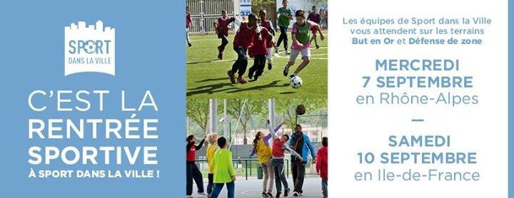 Sport dans la Ville cover