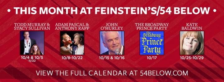 Feinstein's/54 Below cover