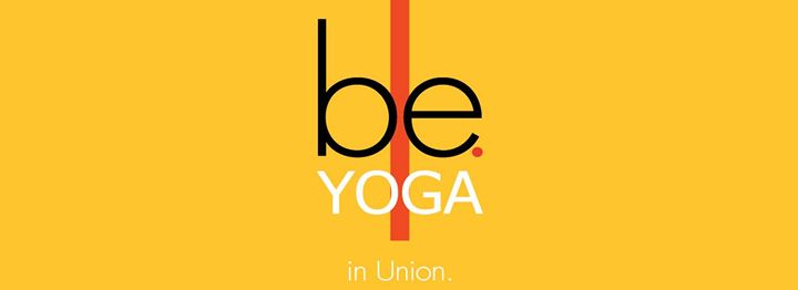 be. in union yoga cover