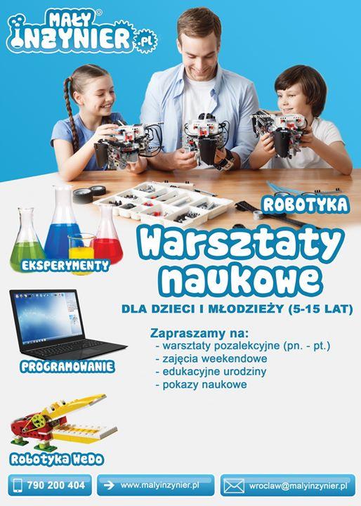 Mały Inżynier - Wrocław cover