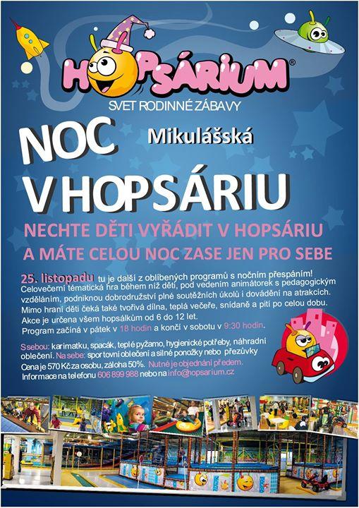 HOPSARIUM - svět rodinné zábavy cover