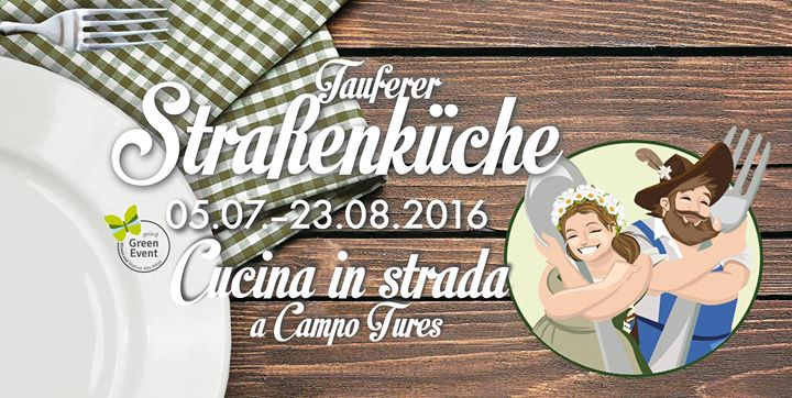 Tauferer Straßenküche - Cucina in Strada a Campo Tures cover