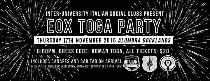 Melbourne University Italian Social Club cover