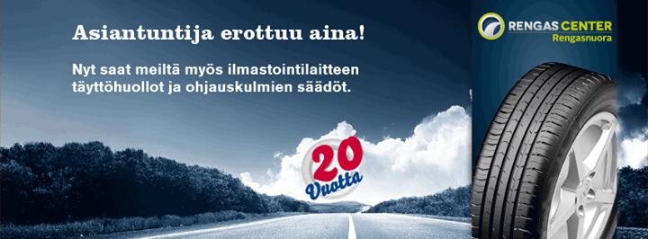 RengasCenter Jyväskylä Rengasnuora Oy cover