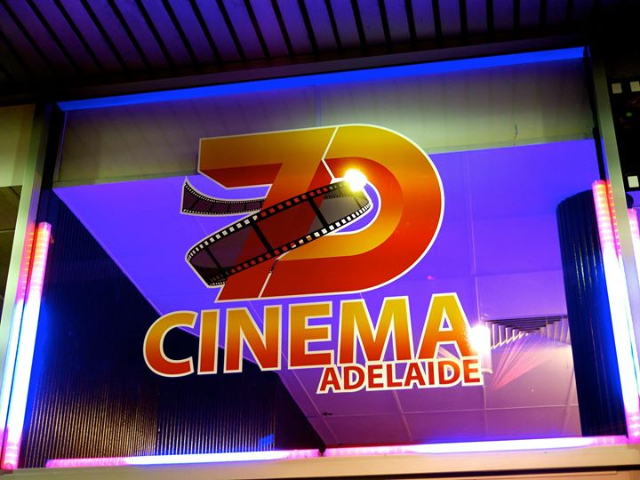 Adelaide 7D Cinema cover