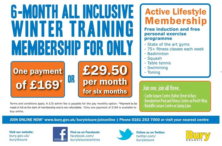Ramsbottom Pool & Fitness Centre cover