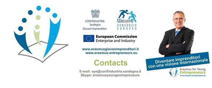 Erasmus per Giovani Imprenditori WelcomE cover