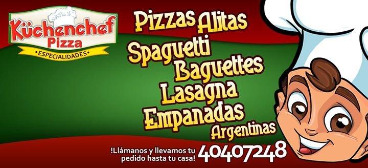 """Kuchenchef Pizza Especialidades"" cover"