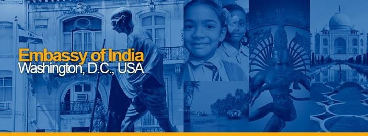India in USA (Embassy of India, Washington DC) cover
