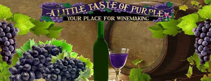 A Little Taste of Purple cover