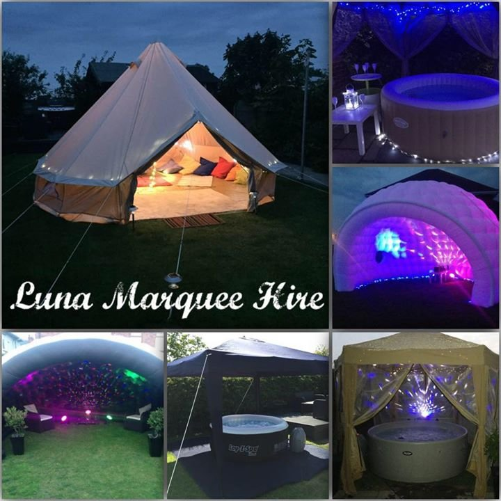 Luna Hot Tubs & Marquee Hire cover