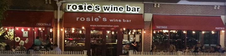 Rosie's Wine Bar cover