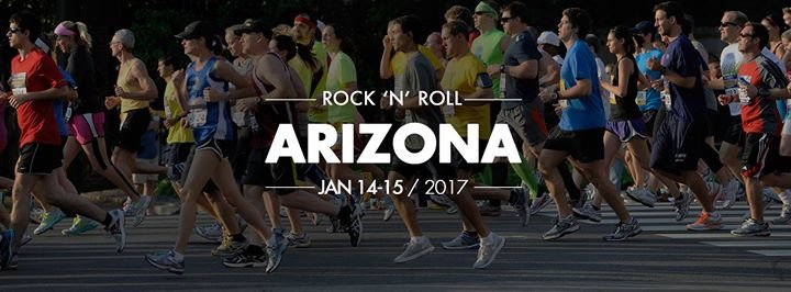 Rock 'n' Roll Arizona Marathon & 1/2 Marathon cover